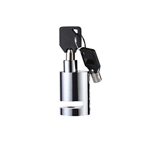 Disc Brake Lock, Motorcycle Bike Safety Anti-Theft Disc Brake Lock with Two Keys for Motorcycle, Mountain Bike, Road ycle