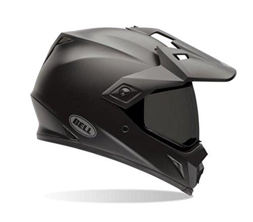 Bell Solid Men's MX-9  dirt bike helmet