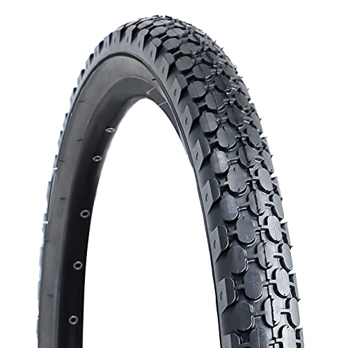 Hycline Bike Tire,26'x2.125'Folding Replacement Tire for Beach Cruiser Bicycle-Black