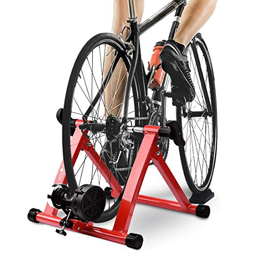 MAGNETIC 8 LEVELS RESISTANCE TURBO TRAINER FROM HEALTH LINE PRODUCTS