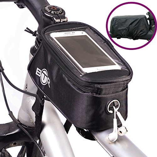 BTR BICYCLE BIKE BAG PANNIER WITH MOBILE PHONE POCKET