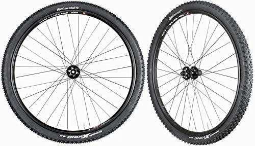 WTB SX19 Mountain Bike Wheelset 29' Continental Tires Novatec Hubs Front 15mm Rear 12mm 11 Speed