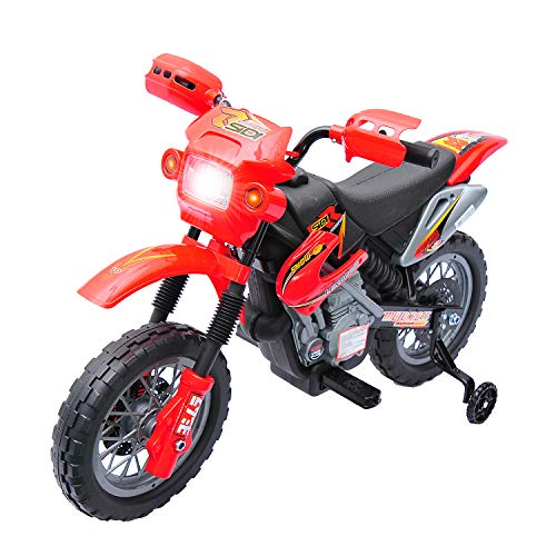 QABA 6V KIDS ELECTRIC DIRT BIKE TOY