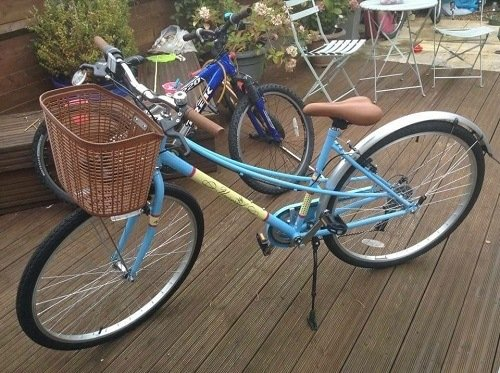 Basket Included Hybrid Bike