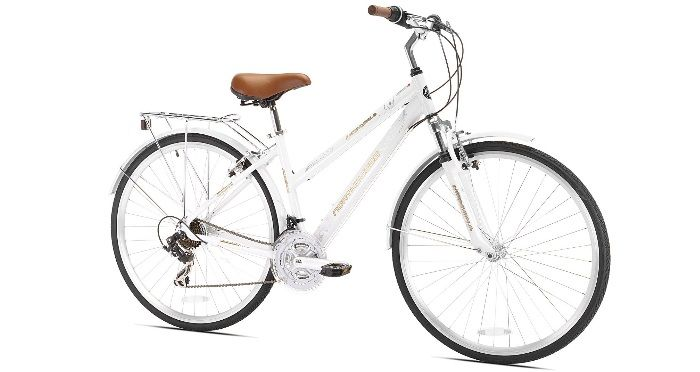 Northwoods Springdale Womens 21-Speed Hybrid Bicycle, 700c