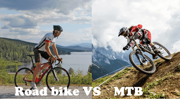 Difference VS MTB And Road Bike