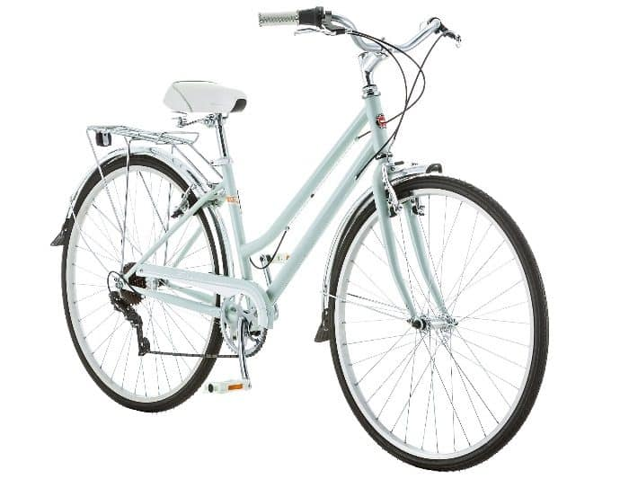 Schwin Womans Cycle Mint Close Up