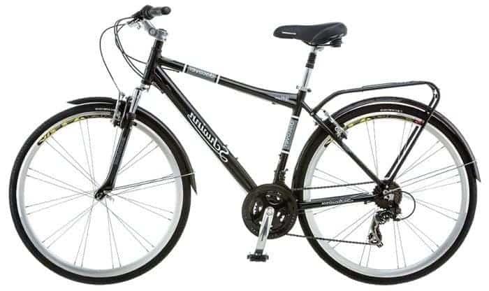 e2e3936b5a1 Schwinn Discover Men's Hybrid Bike Review (700C Wheels ...