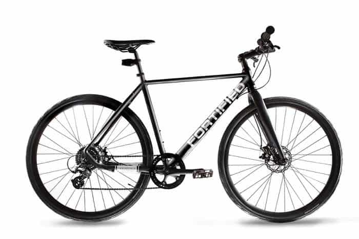 fortified theft resistant hybrid bike