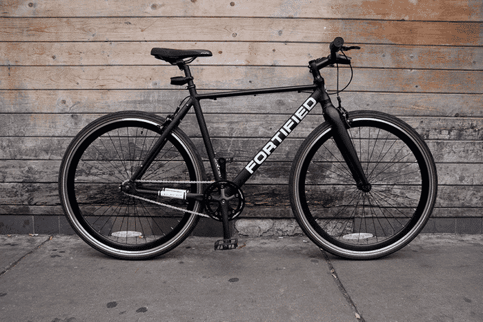 fortified 8 speed hybrid city bike review