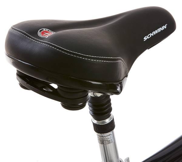 Schwinn Hybrid padded seat