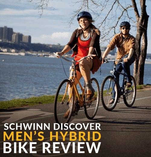 schwinn discover mens hybrid bike review