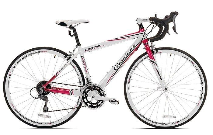 Giordano Libero 1.6 (Women's) Road Bike red/white side