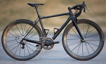 Nice carbon road bike