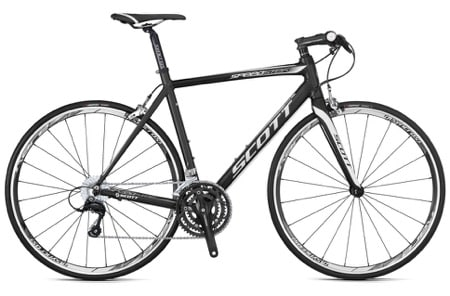 Flat bar road bike