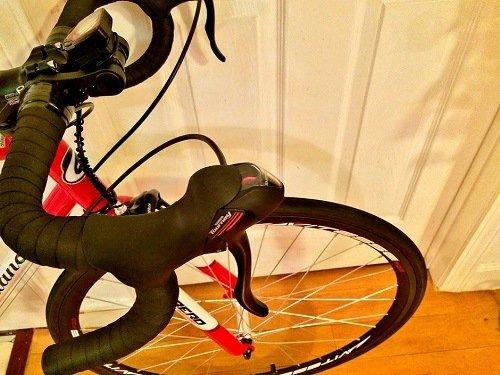 Giordano Acciao Road Bike breaks