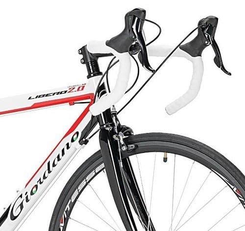 Giordano Libero 2.0 Road Bike handlebars