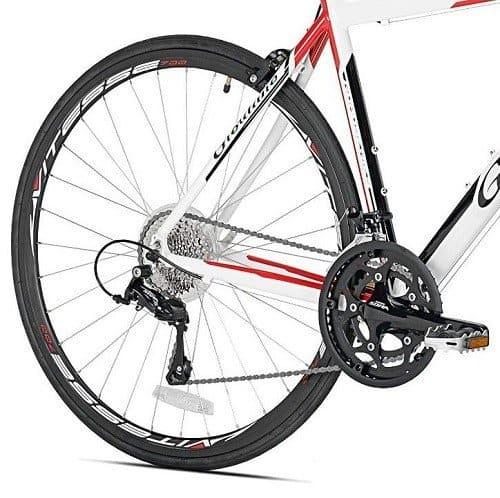 Giordano Libero 2.0 Road Bike shifter and chainrings