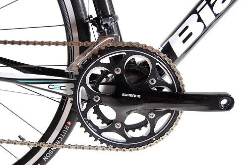 Bianchi Intenso Road Bike front chain ring