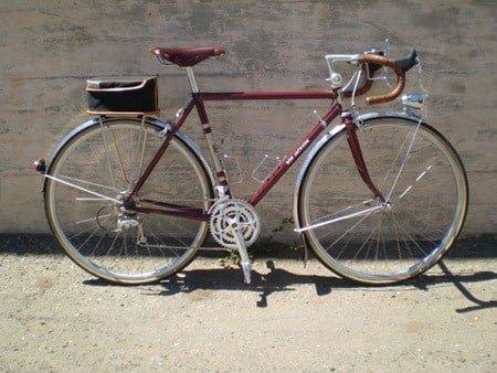 Touring road bike