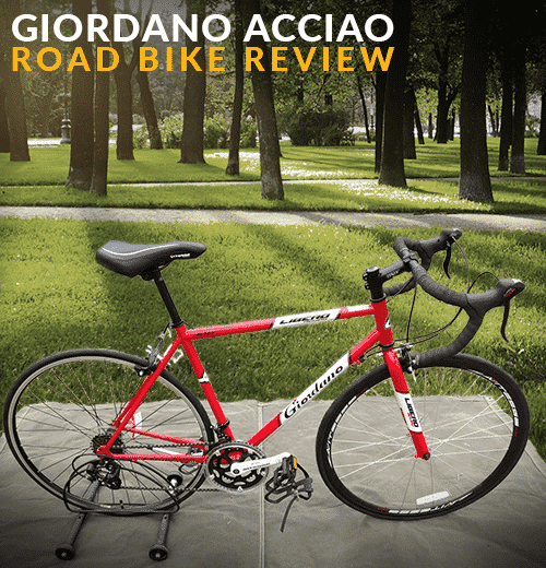 Giordano Acciao Road Bike Review