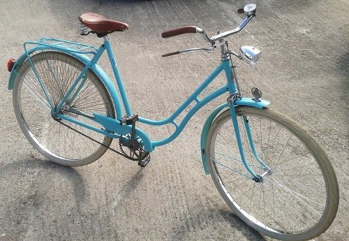 Example of bike restoration