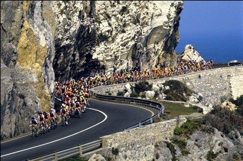 The Milan-San Remo bike race.