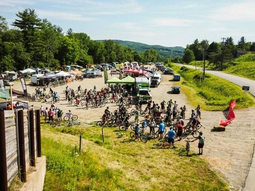 Vermont mountain bike festival.