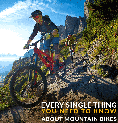 Learn about mountain bikes