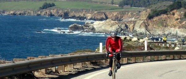 Big sur bike trail.