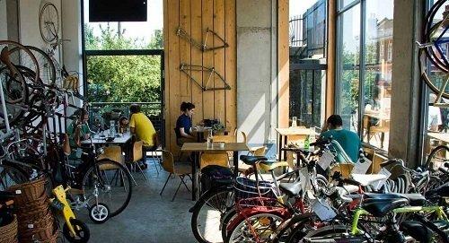 Get Yourself Coffee & A Bike: Interesting Bike Cafes Around The World