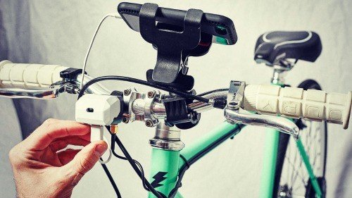 Charge Your Electronics While Bicycle Touring