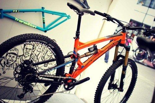 Right bike size.
