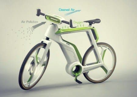 Bike as solution to air pollution