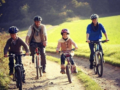 Family and cycling