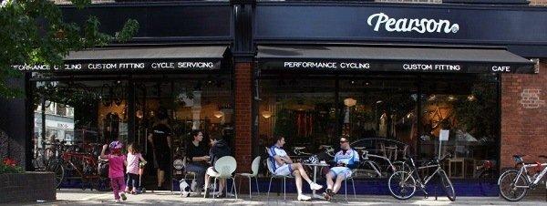 Moders Parsons bike shop.