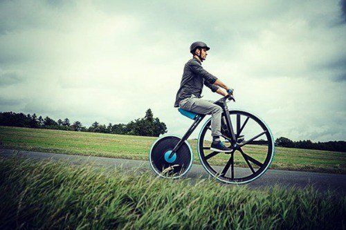 Modern Penny Farthing Bicycles