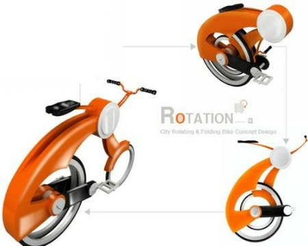 The Rotation bike concept