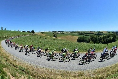 Tour de France bike race.