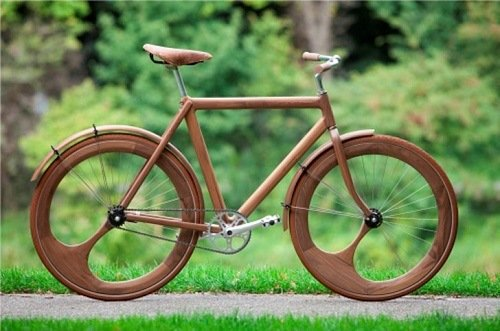 building a wooden bike by yourself - Wooden Bike Frame