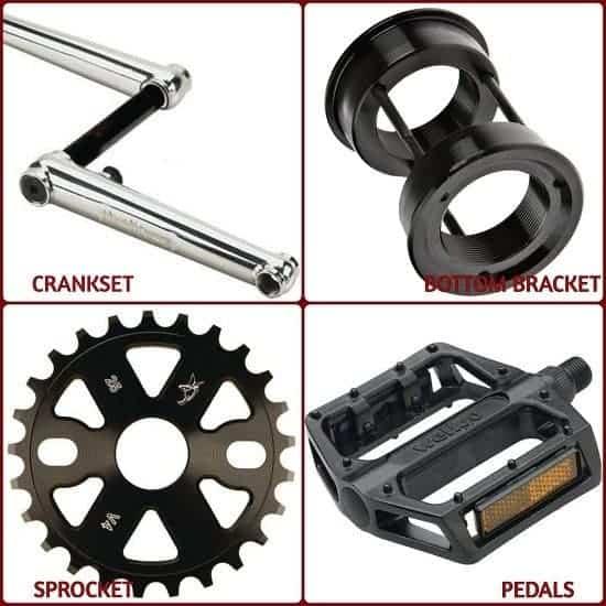 Parts of BMX