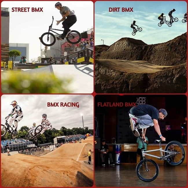 Different BMX Types