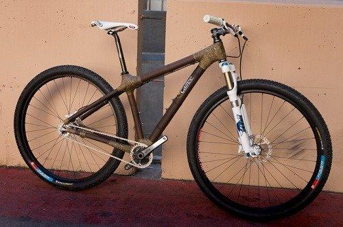 Bike Made From Bamboo