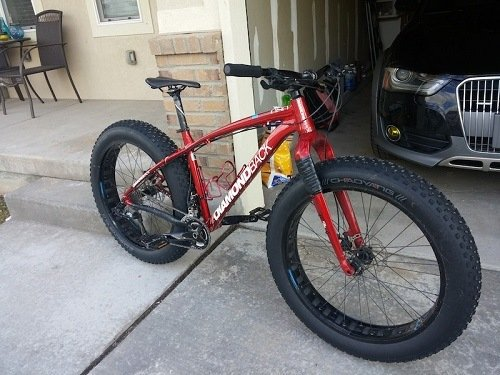 Great Looking Fat Mountain Bike