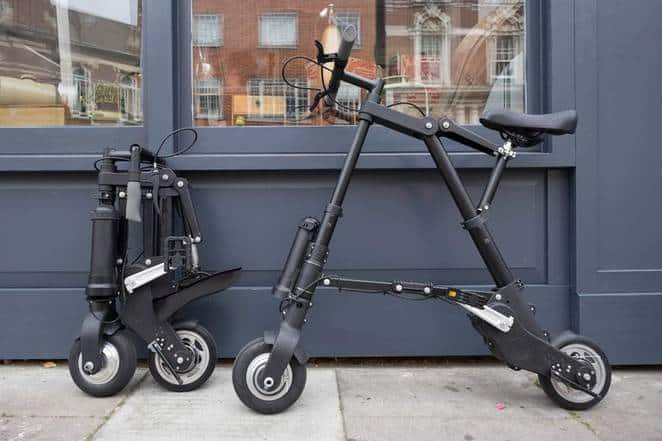 Unusual Electric Folding Bike