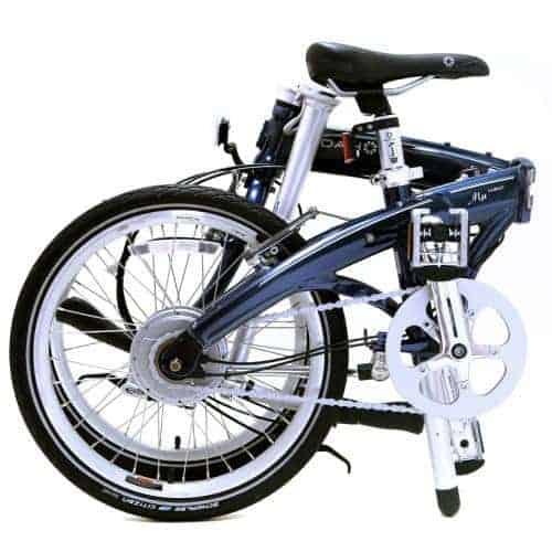 Folded Bike in Half