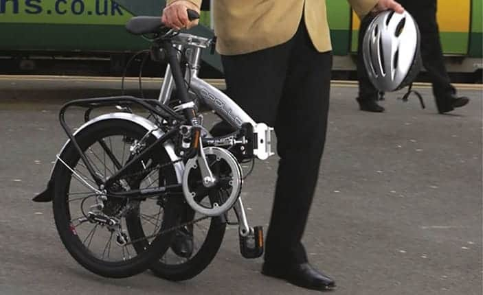 Commuting With Folding Bike