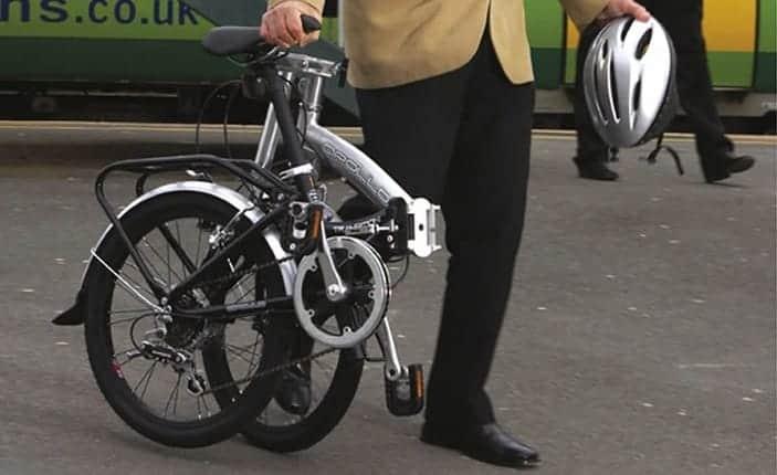 Commuting With Folding Bike