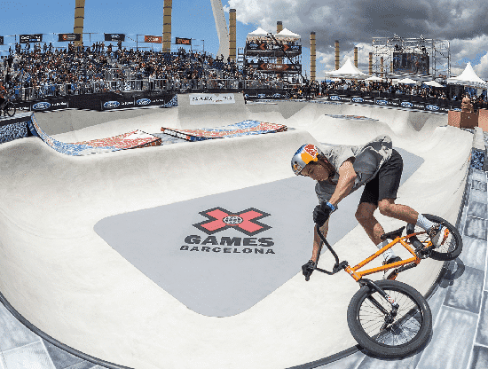 Xgames Freestyle BMX Competition