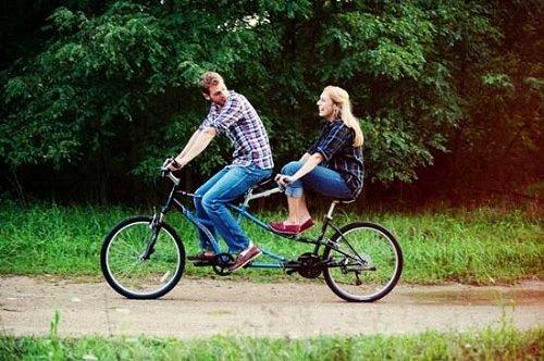 Tandem Bike Cheating